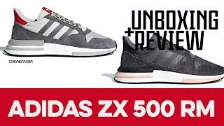 UNBOXING+REVIEW - adidas ZX 500 RM