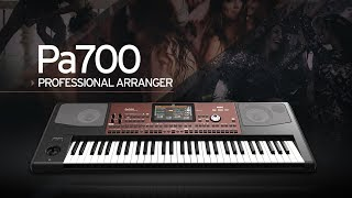 Korg Pa700: Performance That Takes You Places