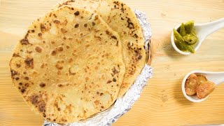 getlinkyoutube.com-Aloo Parathas Recipe in Hindi / आलू के पराठे - Most Simple, Easy & Best, Amazing Alu Flavour