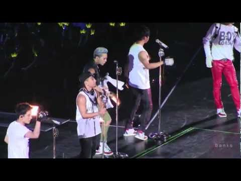 Big Bang - Cafe [Alive Tour 2012 Singapore Indoor Stadium]