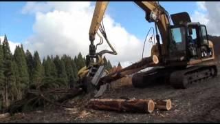 高性能林業機械、ハーベスタ