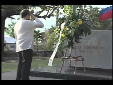 Wreath-Laying and Flag-Raising Ceremonies