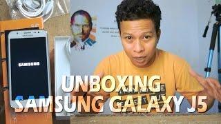 getlinkyoutube.com-Unboxing Samsung Galaxy J5 Indonesia