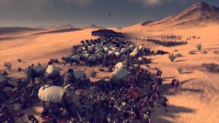 "getlinkyoutube.com-Total War: Rome 2 - Massive Battles - ""300 elephants vs. 5000 Roman Legionnaires"""