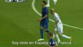 getlinkyoutube.com-Zidane vs. Materazzi. Dialogo subtitulos español