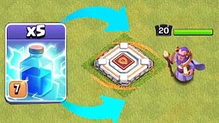 KILLING HEROES WITH SPELLS!!!🔸ALL LIGHTNING!!🔸Clash Of Clans 😀