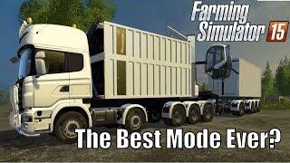getlinkyoutube.com-Biomass Heating Plant | Best Mod Ever? Farming Simulator 2015, Lantmannen Scaina Gameplay