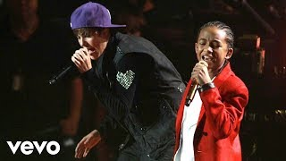 getlinkyoutube.com-Justin Bieber - Never Say Never (Madison Square Garden) ft. Jaden Smith