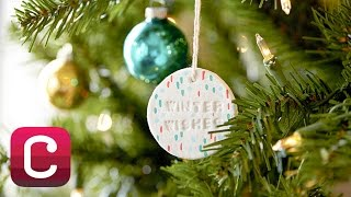 getlinkyoutube.com-Make Paper Clay Christmas Ornaments with Courtney Cerruti   Creativebug