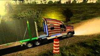 getlinkyoutube.com-18 WOS HAULIN load to Veracruz with Kenworth T2000 custom part2