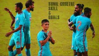 Sunil Chhetri • Skills & Goals