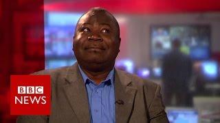 Guy Goma: 'Greatest' case of mistaken identity on live TV ever? BBC News width=