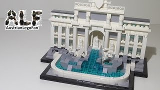 getlinkyoutube.com-Lego Architecture 21020 Trevi Fountain / Trevi Brunnen - Lego Speed Build Review