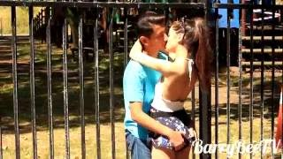 getlinkyoutube.com-Kissing Prank - Kiss GONE FUNNY!