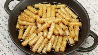 getlinkyoutube.com-백종원 떡볶이 보다 더 쉽고 맛있는 간장떡볶이 Soy Sauce Tteokbokki
