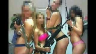 getlinkyoutube.com-SEX Israeli women soldiers cyberspace scene in 2015