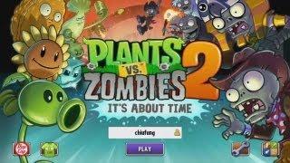 getlinkyoutube.com-【舞秋風小遊戲時間】Plants vs. Zombies 2: Its About Time 植物大戰殭屍2