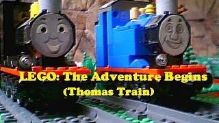 getlinkyoutube.com-LEGO: The Adventure Begins (Thomas Train)