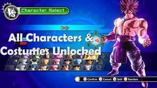 getlinkyoutube.com-Dragon Ball Xenoverse - All Characters