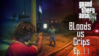 getlinkyoutube.com-GTA 5 Crips VS Bloods (Ep.11) HD