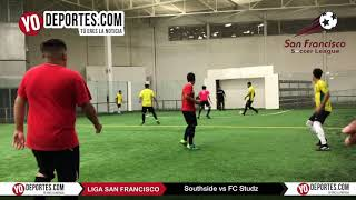 Southside elimina al FC Studz en la Champions de los Martes Liga San Francisco