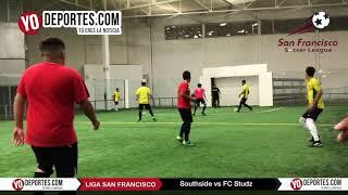Southside elimina al FC Studz en la Champions de los Martes Liga San Francisco