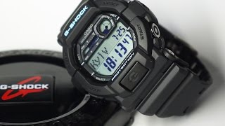 getlinkyoutube.com-Casio G-Shock GD350-8 Grey Watch
