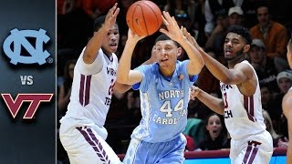 getlinkyoutube.com-North Carolina vs. Virginia Tech Basketball Highlights (2015-16)