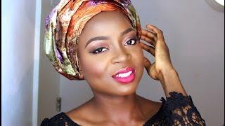 getlinkyoutube.com-HOW TO tie Small GELE   Beginner Friendly   Nigerian Wedding Guest..