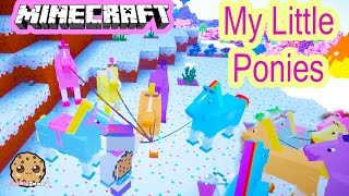 getlinkyoutube.com-Cookieswirlc Minecraft Game Play Finding My Little Pony Horses Let's Play Gaming Video