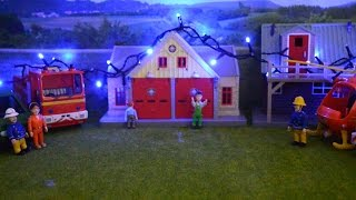 getlinkyoutube.com-Fireman Sam Christmas Episode Pontypandy Lights  Feuerwehrmann Weihnachtenam