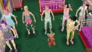 getlinkyoutube.com-Sims FreePlay - Who Run The World [Teens And Adults Video]