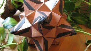 getlinkyoutube.com-Origami ♥ Megapolis ♥ Kusudama