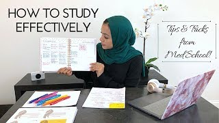 HOW TO STUDY EFFECTIVELY: Tips&Tricks from Med School width=