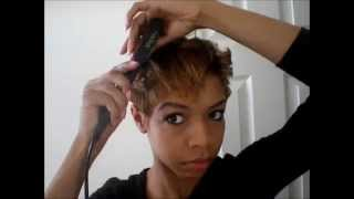 getlinkyoutube.com-Quick Easy Short Hair Style