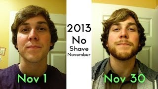 Beard-lapse! 1 Picture every Day for a Month (+the Shaving of It)