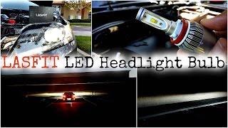 getlinkyoutube.com-LASFIT Philips LED Headlight Bulb