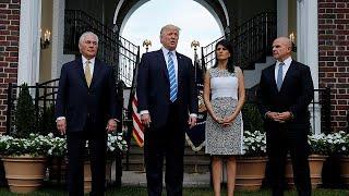 Trump no descarta la opción militar en Venezuela