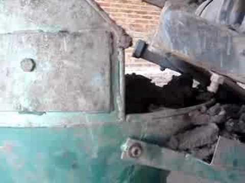 Maquina ladrillera