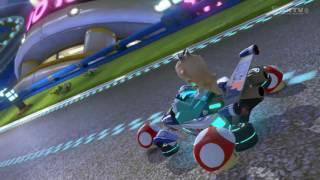 getlinkyoutube.com-Wii U - Mario Kart 8 - Mario Kart Stadium