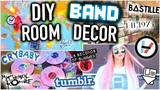getlinkyoutube.com-DIY BAND Room Decor You NEED to Try!