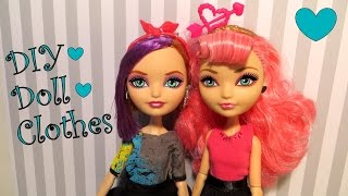 getlinkyoutube.com-DIY Doll Clothes Tutorial