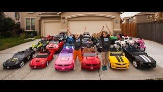 getlinkyoutube.com-Power Wheels Collection - 21 Cars!