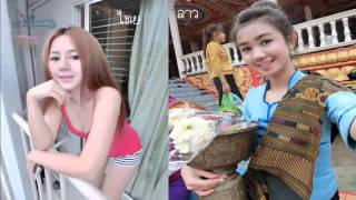 getlinkyoutube.com-สาวลาวท้าดวนสาวไทย 2015 Laos Girls vs Thai girls