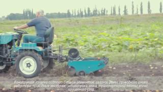 getlinkyoutube.com-Сбор урожая транспортерной картофелекопалкой, трактор Скаут-12 (часть 2)