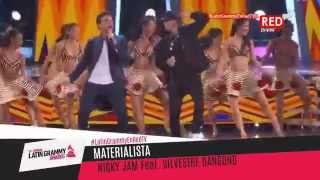 getlinkyoutube.com-Nicky Jam y Silvestre Dangond en los Premios Grammy Latinos 2015