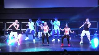 Zumba Believe 2016 in London, Julie Dance & Fanny on stage