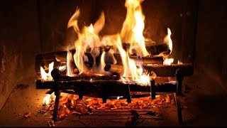 getlinkyoutube.com-Relaxing Fireplace and Perfect Crackling Fire ♫ Cheminée Crépitante et Relaxante 🎧 TV RELAX