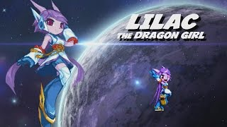 getlinkyoutube.com-Freedom Planet 2 Preview - Lilac Gameplay