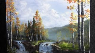 getlinkyoutube.com-Paint with Kevin Hill - Birch Waterfalls